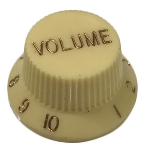Perilla Volumen Sambong Kn005vcr Crema Stratocaster