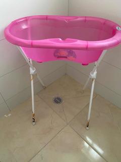 Tina Para Baño Bebé Con Base