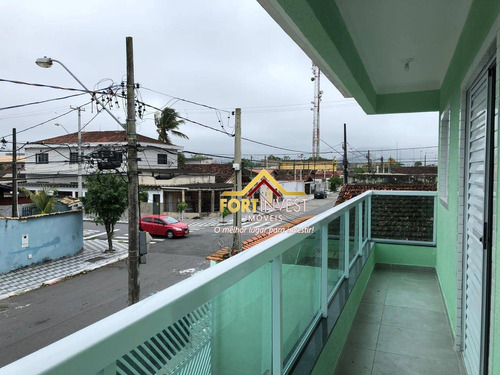 Casa Com 1 Dormitório À Venda, 50 M² Por R$ 180.000,00 - Maracanã - Praia Grande/sp - Ca0312