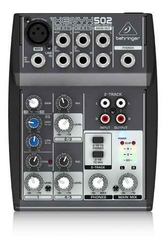 Behringer Xenyx 502 - Consola