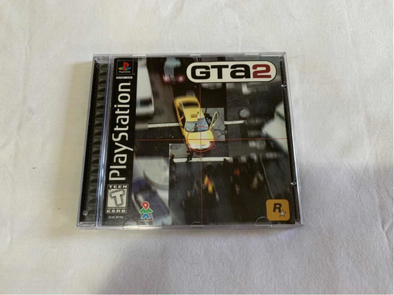 Gta 2 Grand Theft Auto 2 Ps1 Original Completo Americano