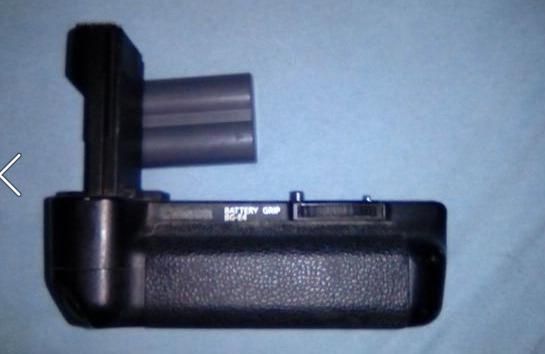 Battery Grip E Bateria Extra Originais Para Canon 5d Mrk 1