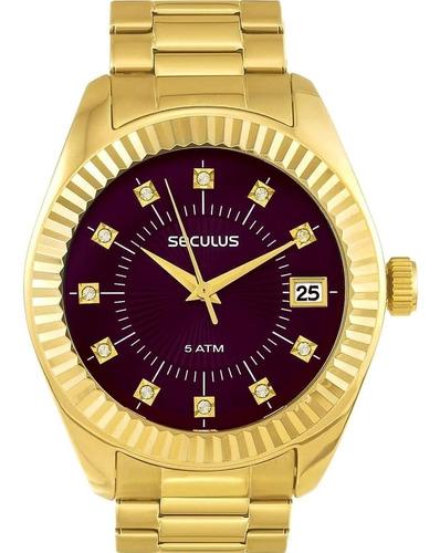 Relógio Feminino Seculus 13019lpsvds6 Barato Original