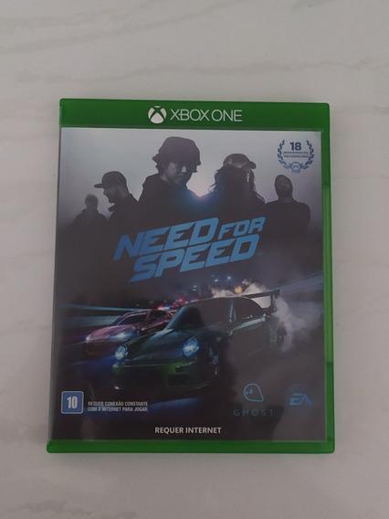 Jogo Need For Speed Mídia Física Xbox One