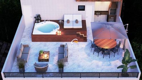 Cobertura Com 2 Dormitórios À Venda, 53 M² Por R$ 310.900,00 - Bessa - João Pessoa/pb - Co0108