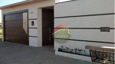 Casa Residencial À Venda, Vila Cristal, Brodowski. - Codigo: Ca6313 - Ca6313
