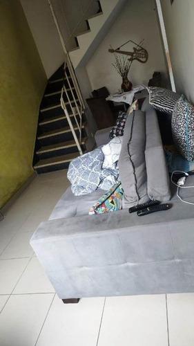 Sobrado Com 2 Dormitórios À Venda, 105 M² - Rudge Ramos - São Bernardo Do Campo/sp - So20223