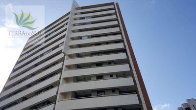 Apartamento Com Lazer E 2 Vagas No Cocó. - Ap0573