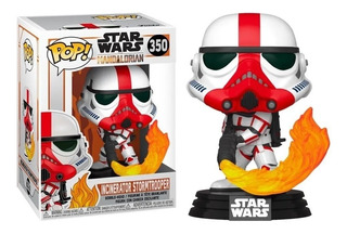 Funko Pop 350 The Mandalorian Incinerator Stormtrooper