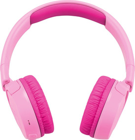 Fone De Ouvido Com Bluetooth Para Meninas Jbl Jr300bt Rosa