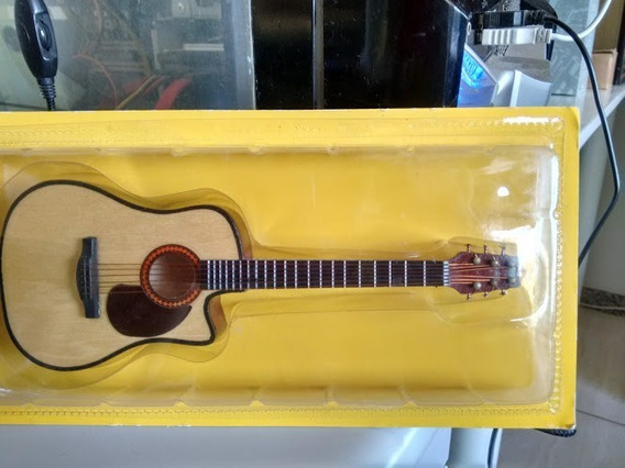 Miniatura Violão Acustico Country Guitarra Salvat Guitar