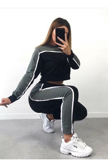 Conjunto Deportivo Nike Suéter Y Mono Jogger Mujer Y Hombre