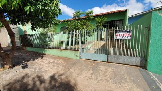 Casa Com 3 Dormitórios Para Alugar Por R$ 800/mês - Conjunto Habitacional Maria Cecília Serrano De Oliveira - Londrina/pr - Ca0423