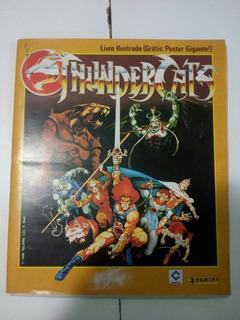 Álbum De Figurinhas Thundercats 1986 Completo