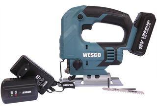 Serra Tico Tico Bateria 18v Vel. Variavel Ws2933 Wesco