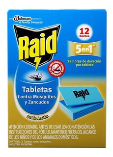 Raid Tabletas Larga Duración X 12 X 2 Cajas