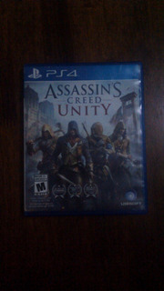 Assassins Creed Unity Ps4, Semi Nuevo