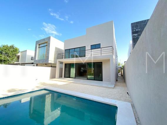 Casa En Venta A Estrenar En Lagos Del Sol, Cancun
