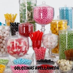 Combo Candy Bar, Golosinas Por Color **mesa Dulce**