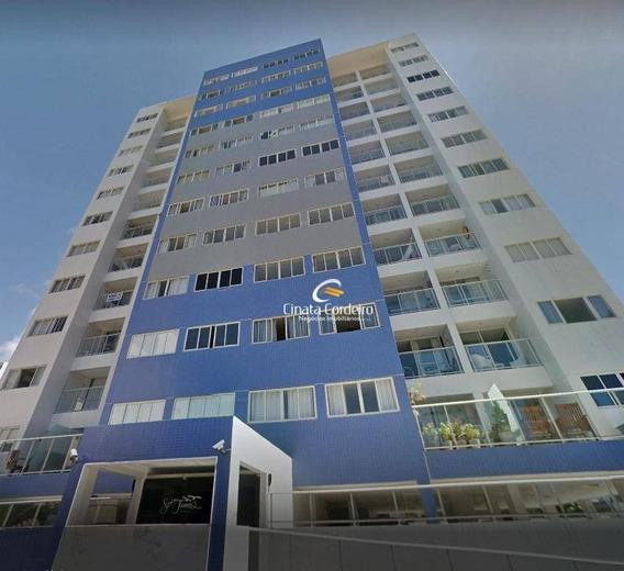 Apartamento Com 3 Dormitórios À Venda, 115 M² Por R$ 450.000 - Bessa - João Pessoa/pb - Ap2460