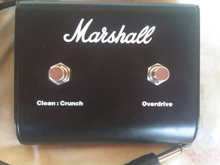 Amplificador Footswitch Marshall