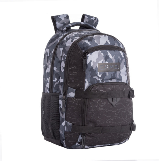 Mochila Escolar Swat Camuflada 18,5 Grande