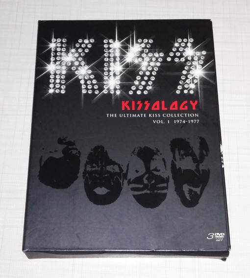 Box Kiss Kissology The Ultimat Vol.1 1974-1977 Frete Gratis