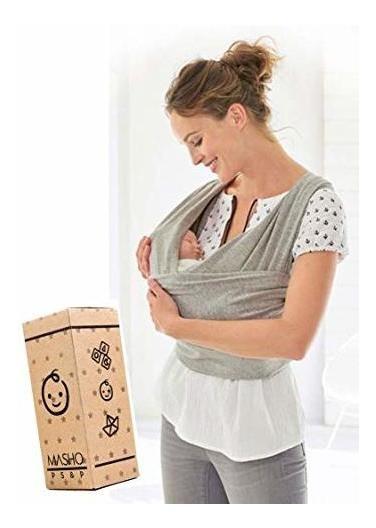 Fular Elástico/baby Wrap (portabebés), Rebozo Para Múltiple- Envío Gratís