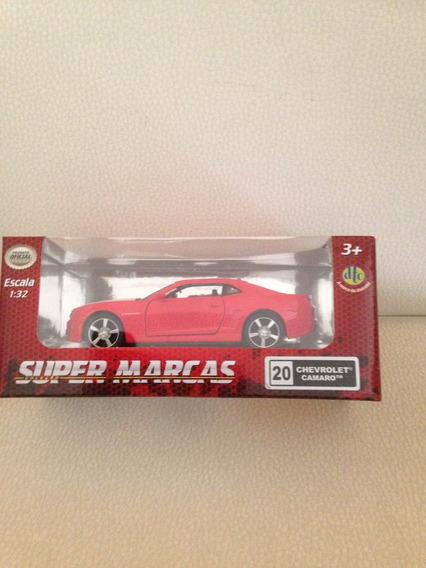 Camaro Chevrolet Super Marcas Metal Escala 1:32 Dtc 3388