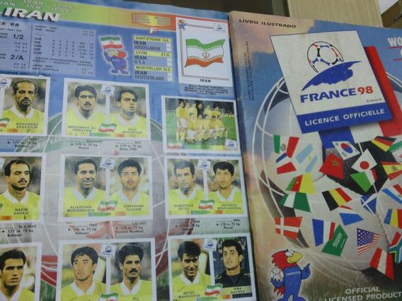 Copa 1998 Versão Nacional C/jog. Iran E Inglaterra Completo