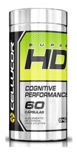Termogênico Super Hd Cognitive Performance 60caps Cellucor