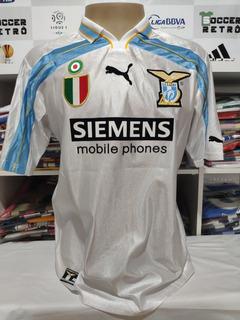 Camisa Lazio 2000-01 Serie A Crespo 10 À P/ Entrega