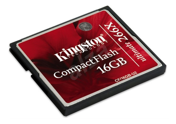 Cartão Compact Flash Kingston 16gb 266x Ultimate