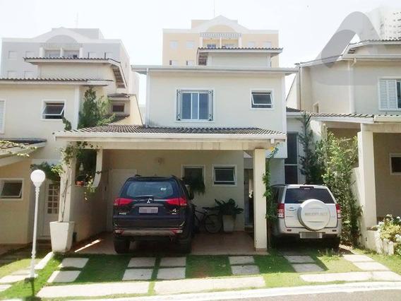 Casa Com 3 Dormitórios À Venda, 150 M² Por R$ 600.000,00 - Condomínio Vizzon Ville - Sorocaba/sp - Ca1512