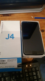 Samsung J4 Negro 16gb 2gb Ram Caja Canjes Libre Fotos Real