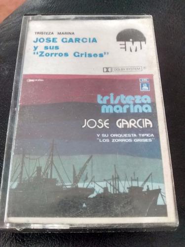 Cassette De Jose Garcia Tristeza Marina(341