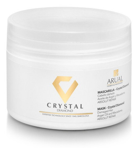 Imagen 1 de 1 de Arual - Mascarilla Crystal Diamond 250 Ml