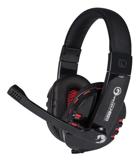 Fone Ouvido Gamer Headset Usb Microfone Pc Not Consoles