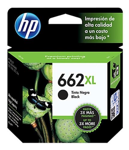 Cartucho Hp 662xl Original Negro En Caja Nuevo C/ Garantia
