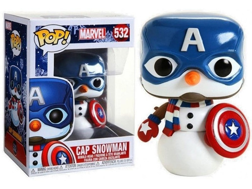 Funko Capitan Snowman (532) - Marvel Holiday (marvel)