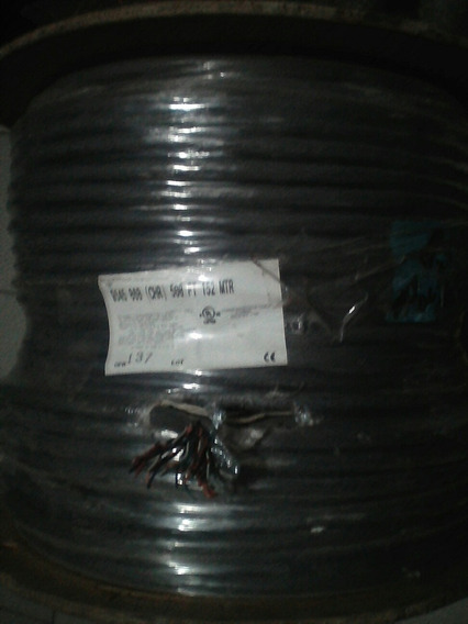 Bobina Nueva Cable 20 Pares Belden Mod 9545. 150 Mts 300 Ft