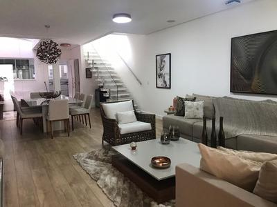 Casa Recem Construida Com 3 Suites Com Ar, Garagem 4 Vagas