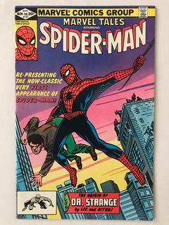 Marvel Tales #137 Spider-man Amazing Fantasy 15 Reprint 1982