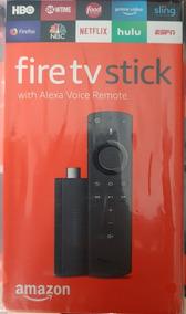 Amazon Fire Tv Stick V3 *alexa New Remote* Entrega Inmediata
