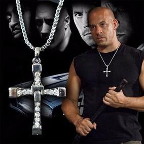 Cordão Cruz Aço Dominic Toretto Furiozos E Velozes 925 Prata