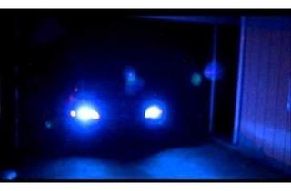 Kit Xenon H4/2 12000k Azul Escuro Intenso Milha Farol Carro