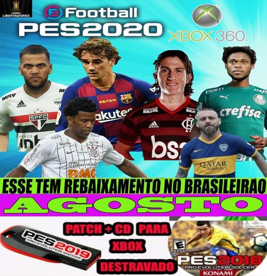 Patch Pes 2018/2020 Xbox 360 Pendrive+cd Para Xbox Destrav