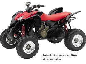 Cuatriciclo Honda 700 Con Pisaderas, Portaequipajes Y Mas