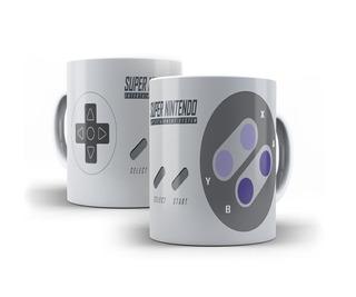 Caneca Controle Jogo Super Nintendo - Mega Oferta!!!