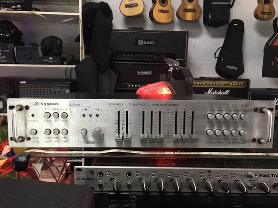 Pré Amplificador Cygnus Cp 800 Melhor Oferta Do Ml